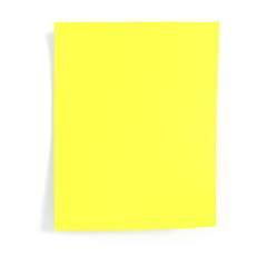 3d rendering, Beautiful shadows of normal blank paper.