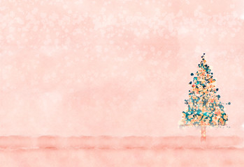 Christmas Tree, may be used inside a Christmas card.