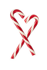 Two candycanes