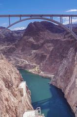 Hoover Dam Bypass Pat Tillman Memorial Bridge