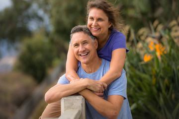 Portrait of an elder couple holding hands