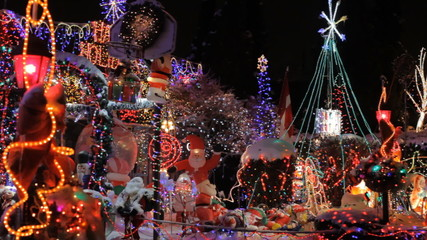 Best decorated House with Christmas Lights in Toronto