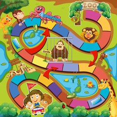 Animals zoo game
