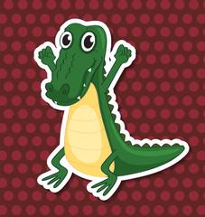A toy crocodile
