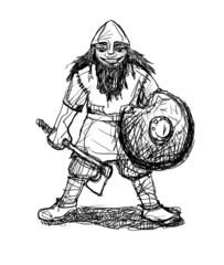 Smiling Viking