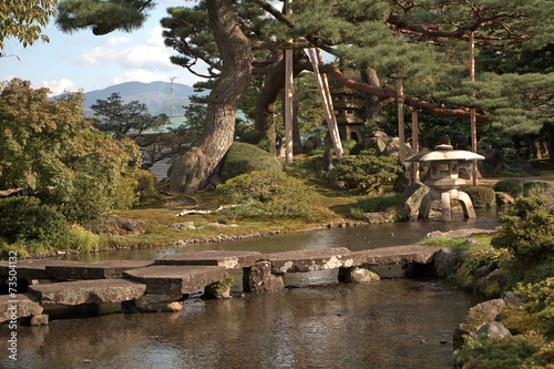 Kenroku Garden, Kanazawa, Japan - 73504132