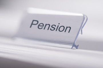 Pension Tag On Table