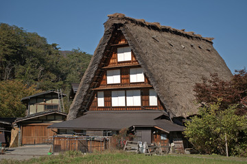 Traditional Japanese architecture, Shirakawa-go, Japan