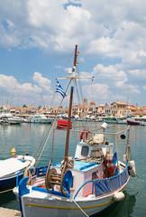 Hafen der griechischen Insel Ägina bei Athen