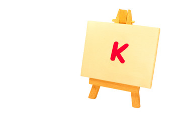Painted 'K'