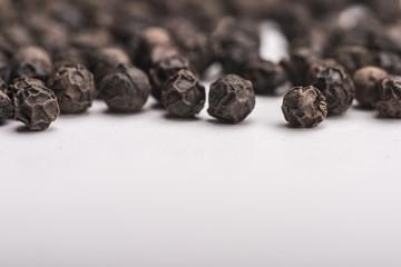 Peppercorns background