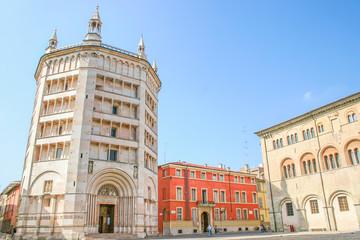 Main square of Parma, Emilia-Romagna, Italy