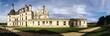 canvas print picture - Chambord castle in Loire Valley