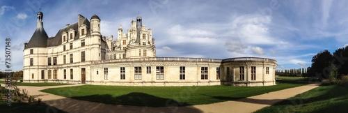 canvas print picture Chambord castle in Loire Valley