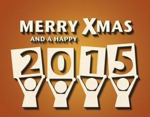 Merry Xmas - Figur - 2015