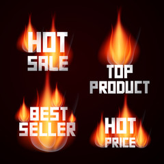 Hot Sale - Price - Top Product - Best Seller Titles in Flames
