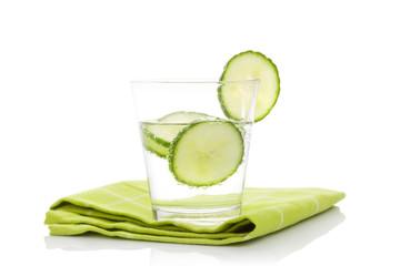 Cucumber lemonade.