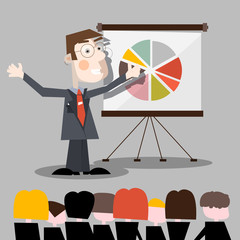 Presentation Vector Illustration