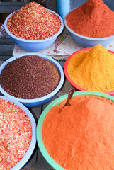 Spices at the market of Pyin U Lwin