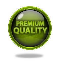 Premium quality circular icon on white background