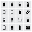 Vector battery icon set - 73512725