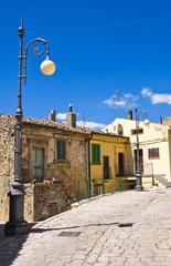 Alleyway. Pietragalla. Basilicata. Italy.