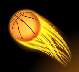 basketball fire
