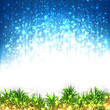 Christmas glitter abstract background.