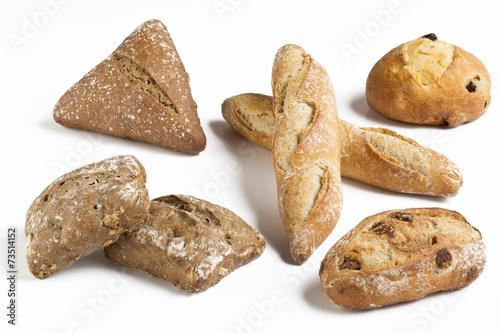 Papiers peints Boulangerie Boulangerie / Petis pains minis
