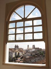 View of Salvador da Bahia from a window