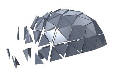 metallic polyhedron
