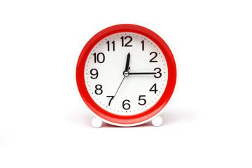 Clock isolated on white background