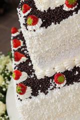 Wedding Cake Close-up