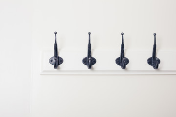 Row of hooks