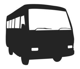 Bus Shape Vector