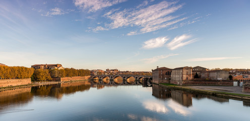 Pont Neuf sur la Garonne, Toulouse