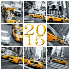 2015 yellow taxis in New York
