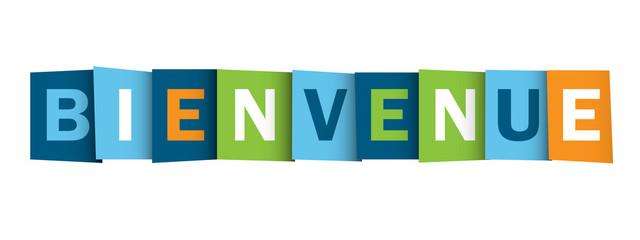 """""""BIENVENUE"""" (lettres accueil service clients satisfaction)"""