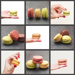 composition de macarons