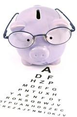 Le coût des lunettes