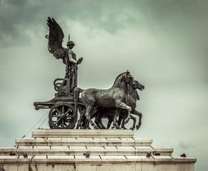 Statue of goddess Victoria