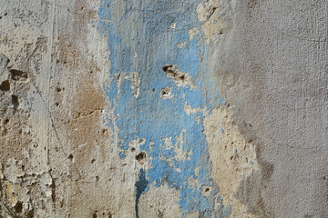 old cracked paint concrete wall texture background