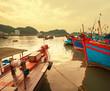 Boat in Vietnam - 73523143