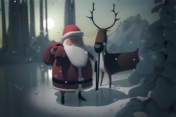 Christmas retro