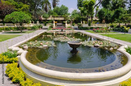 Fotobehang Nepal Garden of Dreams. Kathmandu. Nepal