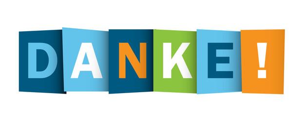 """DANKE"" (Vielen Dank Schön Sehr Dankbarkeit Dankeskarten)"