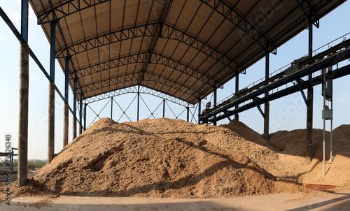 Bagasse stock pile - 73526348