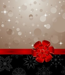 Christmas background with set balls for holiday design
