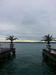 Molo del lago