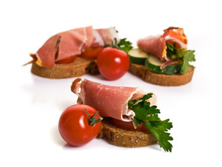 Canape with Jamon